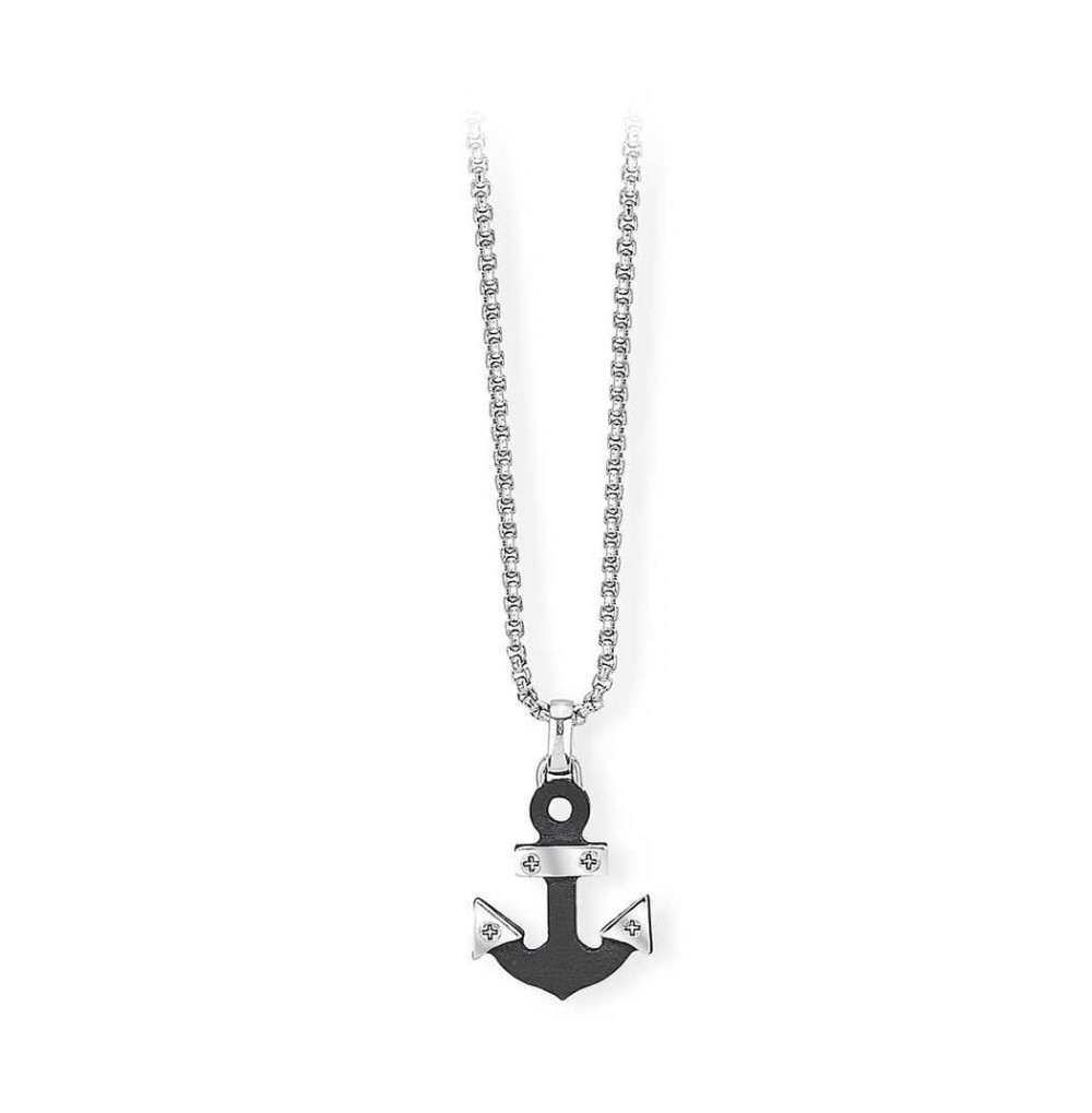Anchor Necklace - Black...