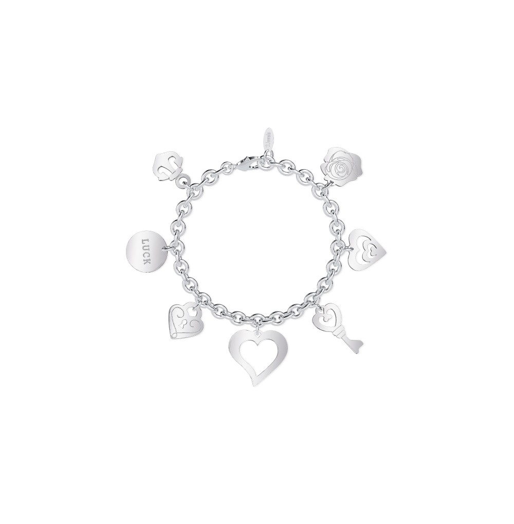 Love Charm Bracelet -...