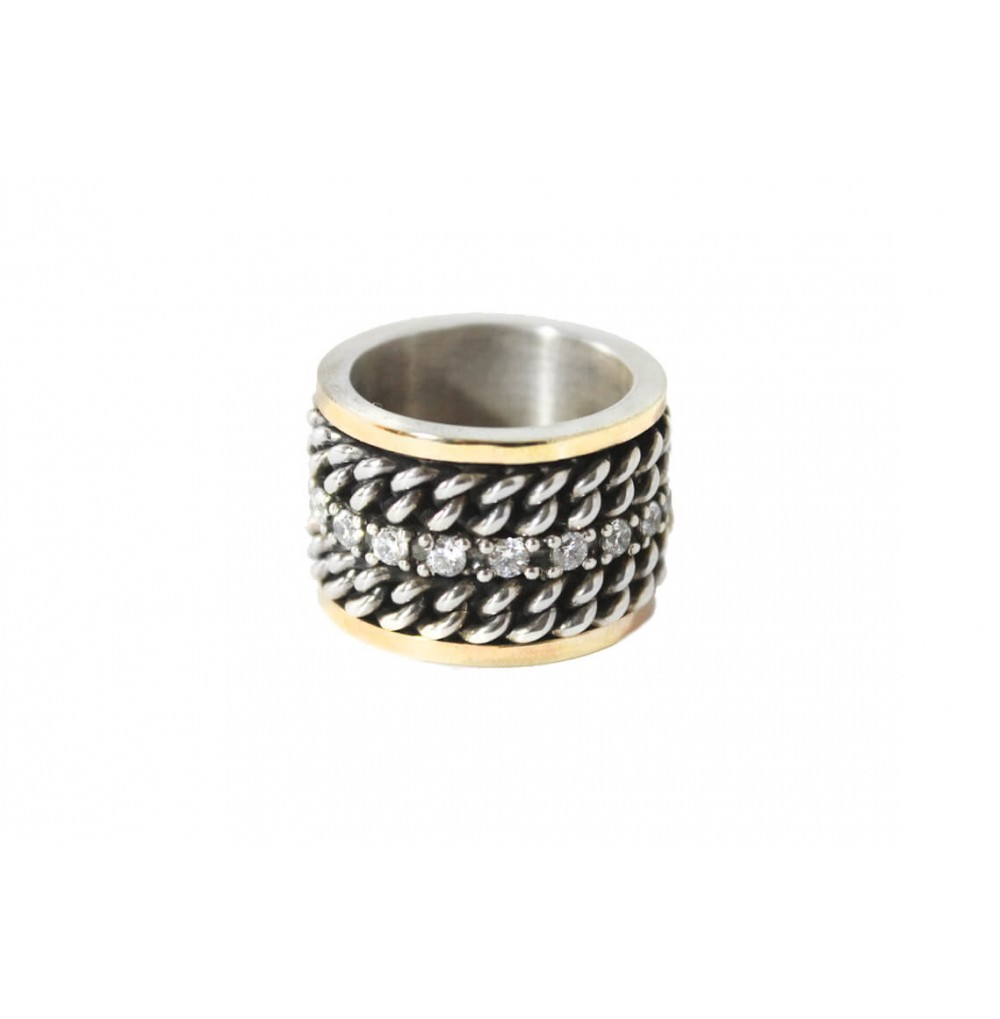 Silver & Gold 15 mm