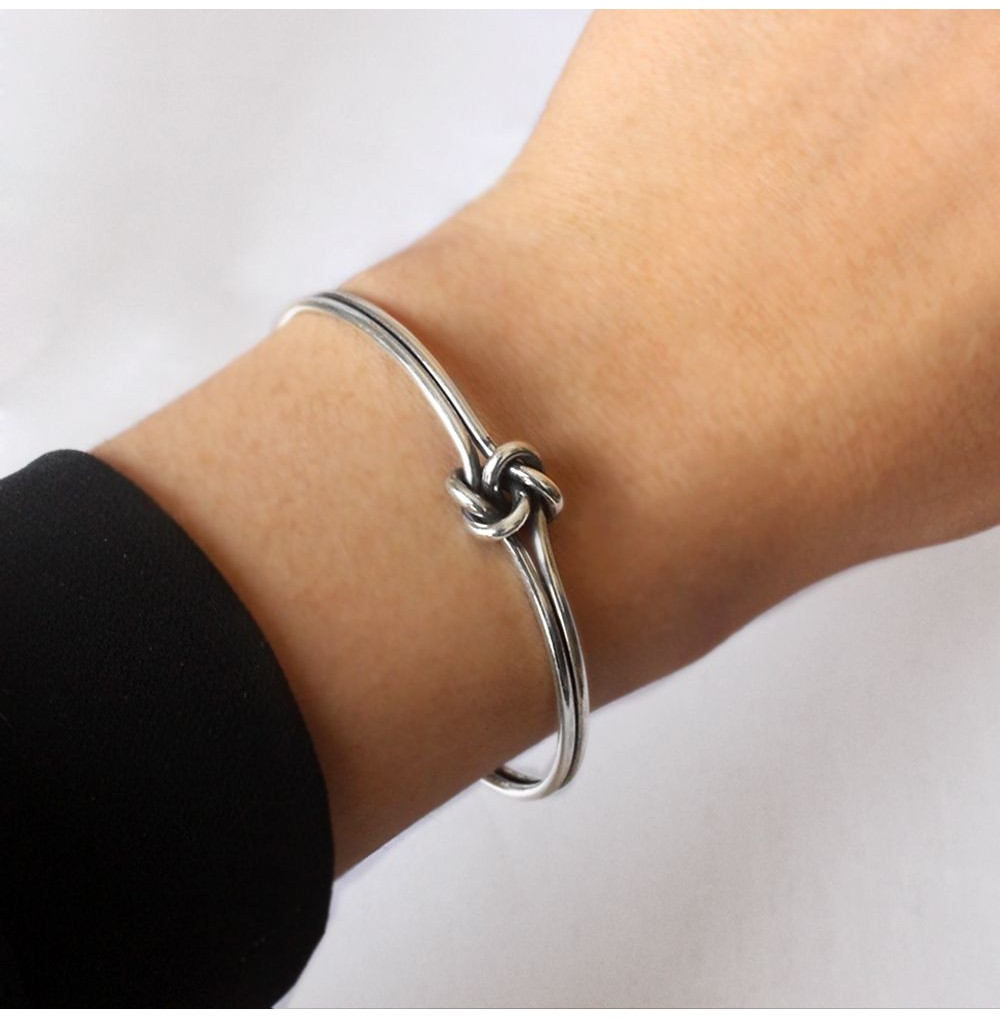Simple Tangled Bracelet -...