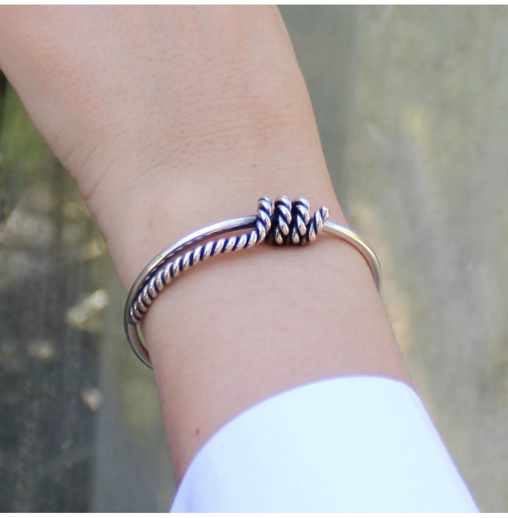 Different Knot Pair - Bracelet