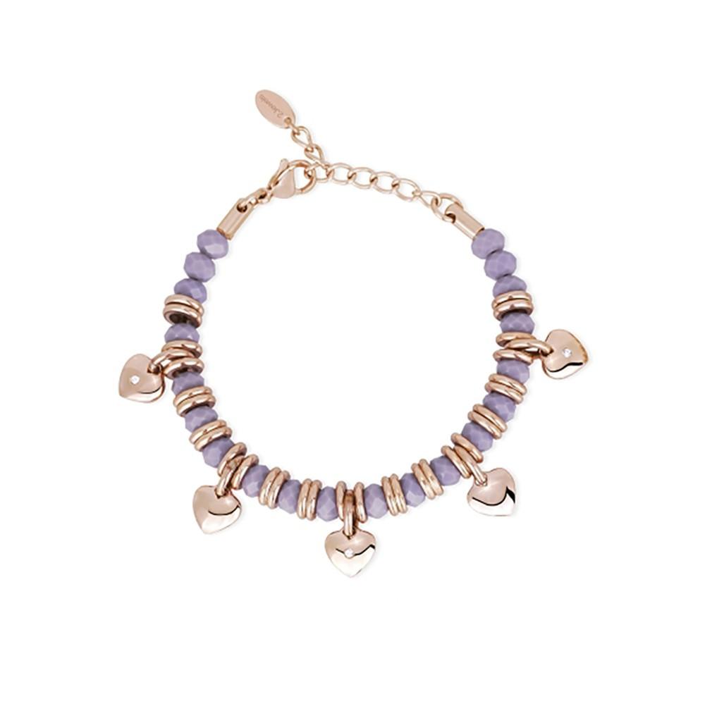 Hearts Bracelet - Color...