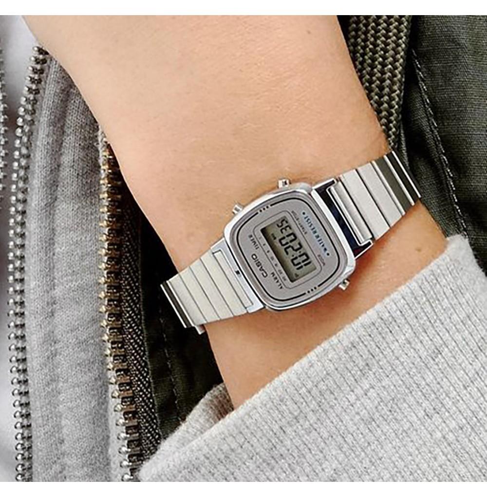 Retro Time Silver