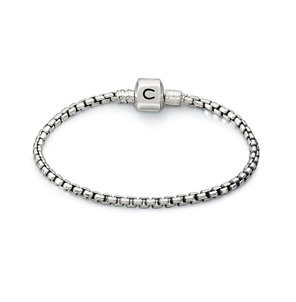 Silver Chain Bracelet -...