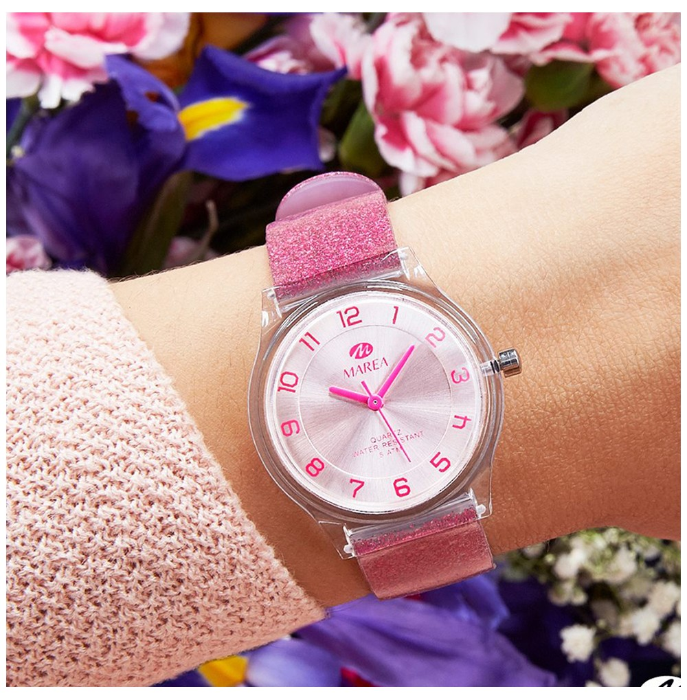 MAREA pink watch / Trendy