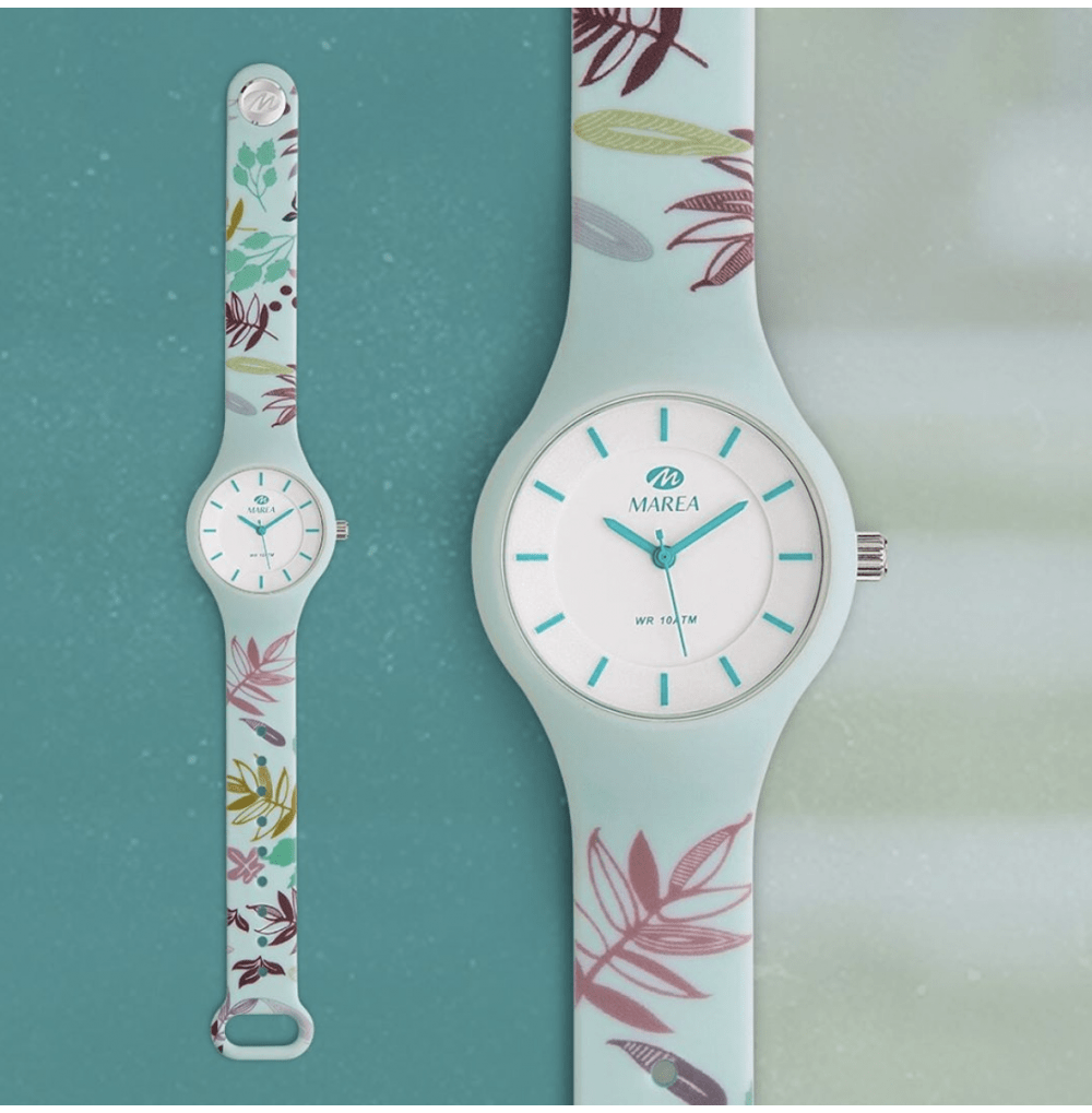 Bloom Watch - light blue