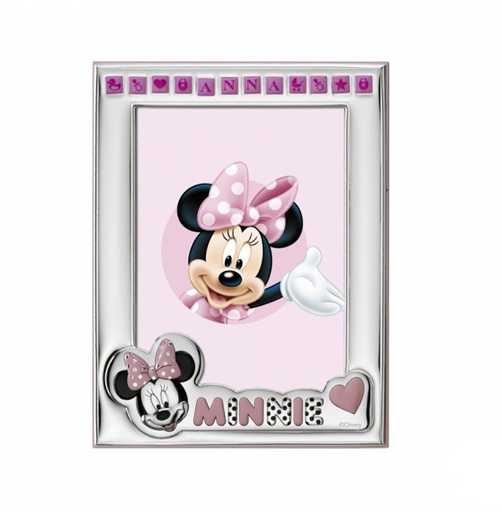 Moldura Minnie Personalizável