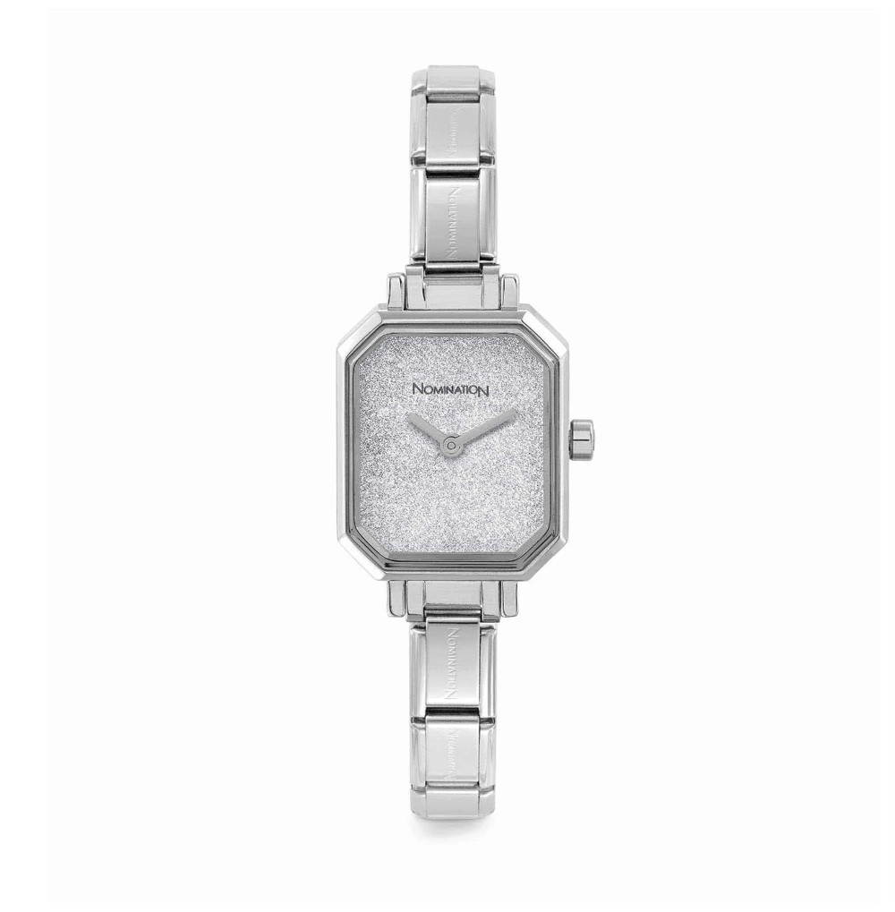 Composable Steel watch with...