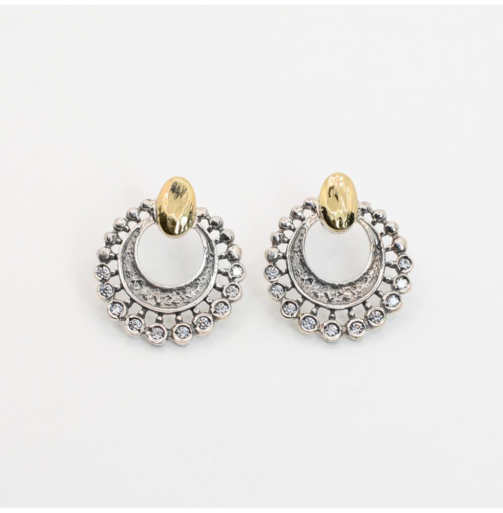 Circle Silver & Gold -...
