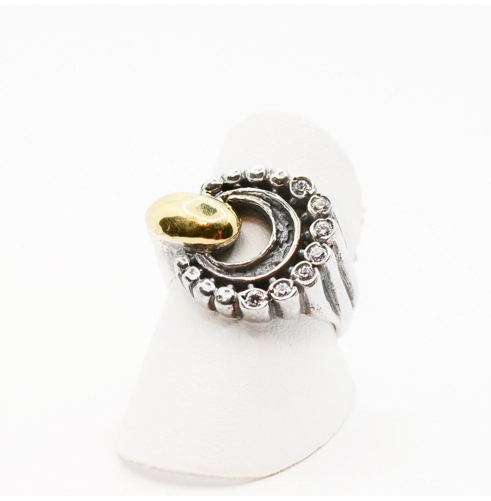 Circle Silver & Gold - Ring