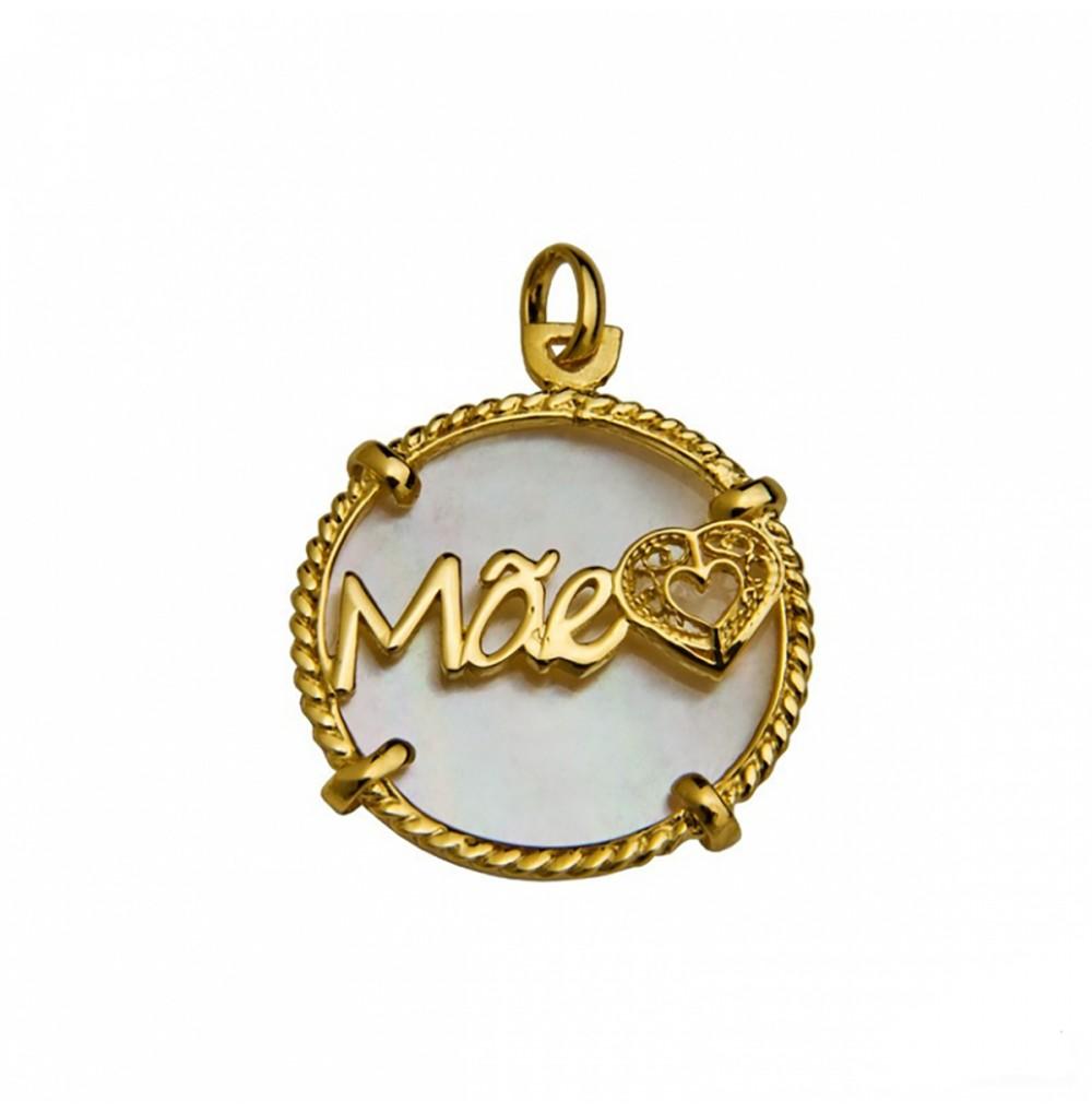 Medalha Madrepérola Mãe