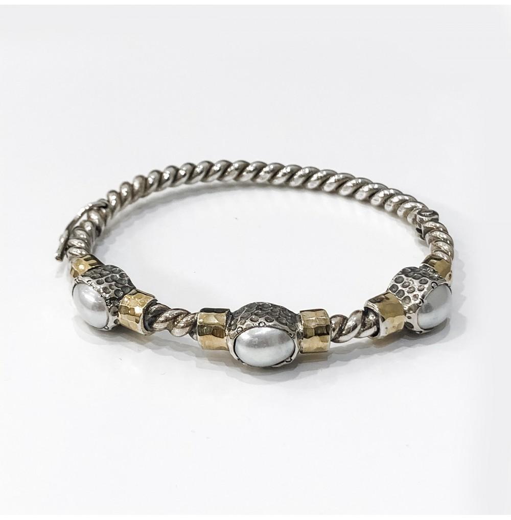 Escrava Pérolas - Silver &...