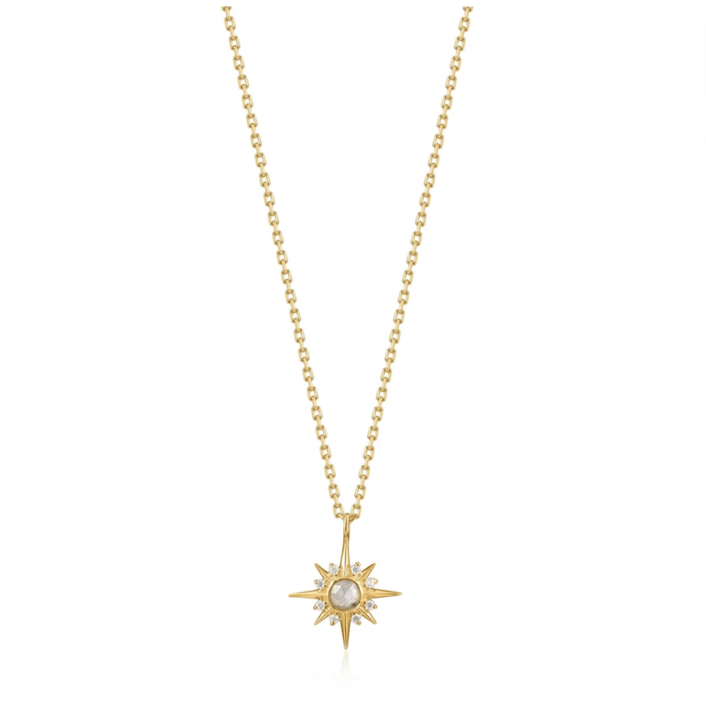 Gold Midnight Star Necklace