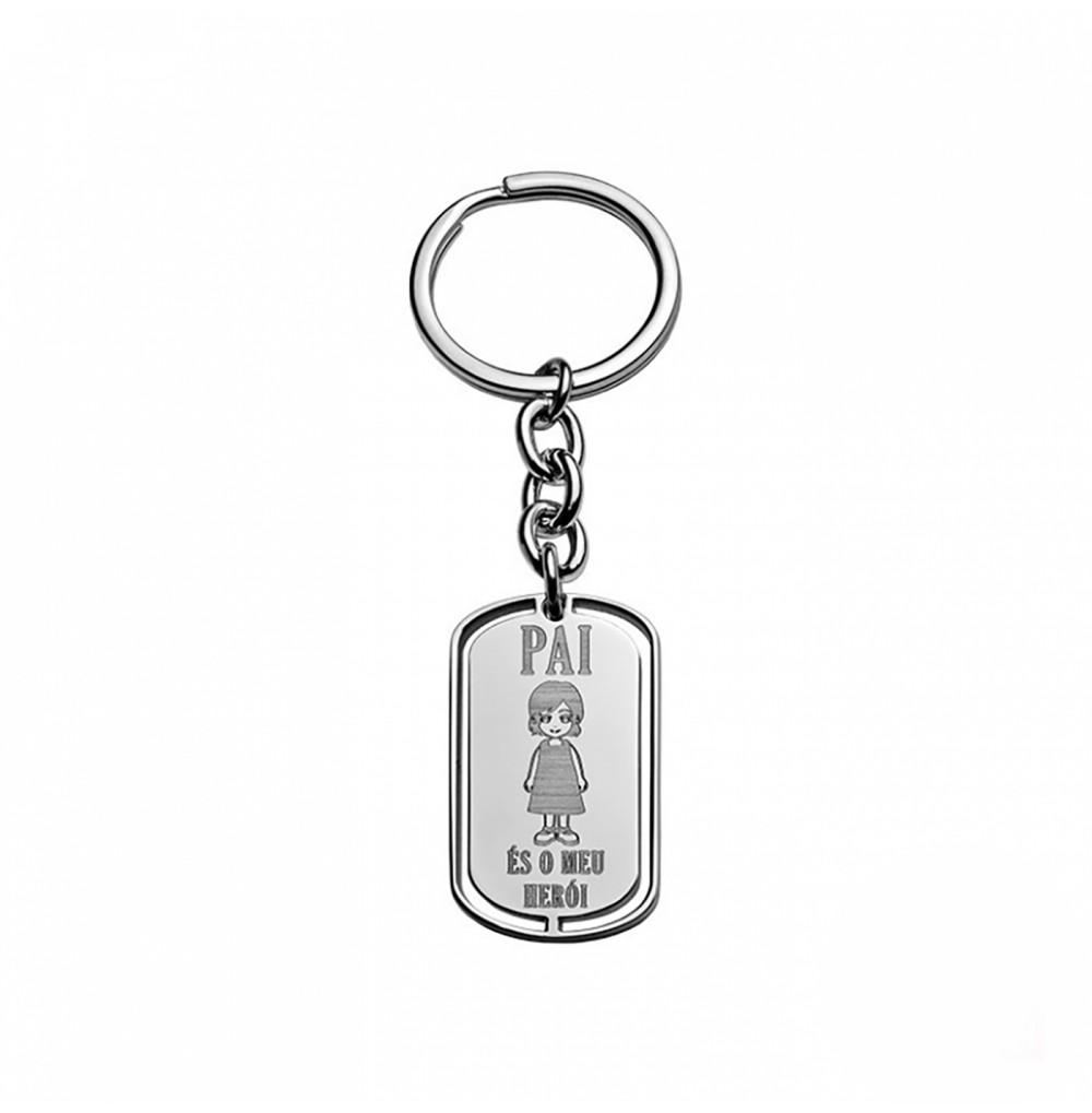 Porta-chaves Pai és o meu...