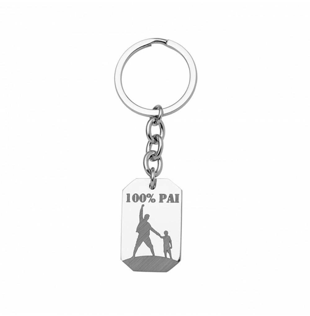 Porta-chaves 100% Pai