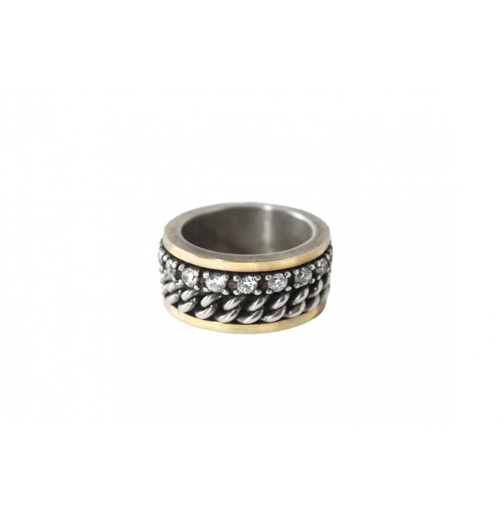 Silver & Gold 10 mm