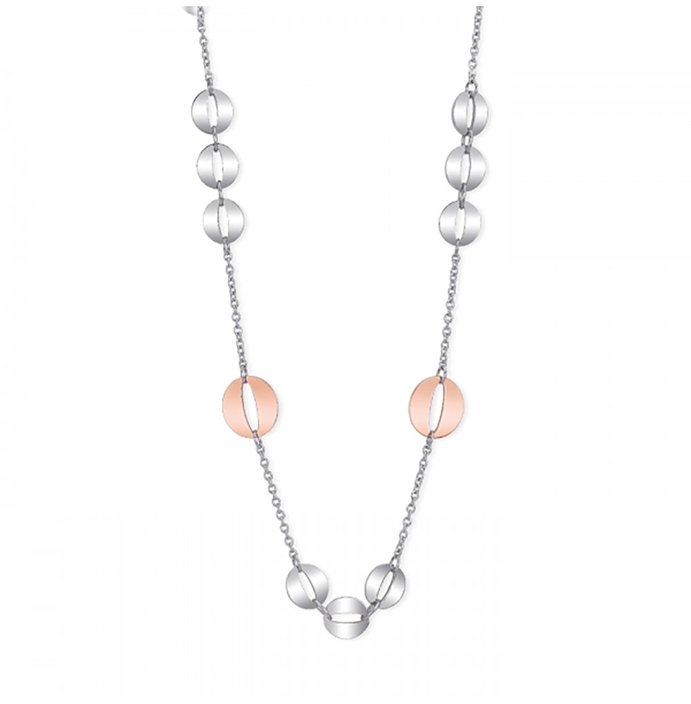 Circles Necklace - Flat...