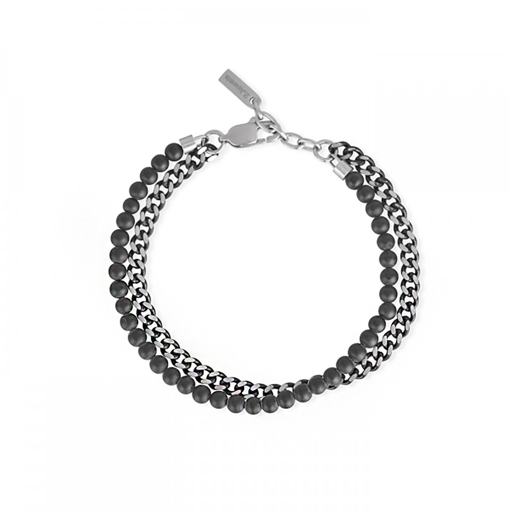 Chain and Stones Bracelet -...