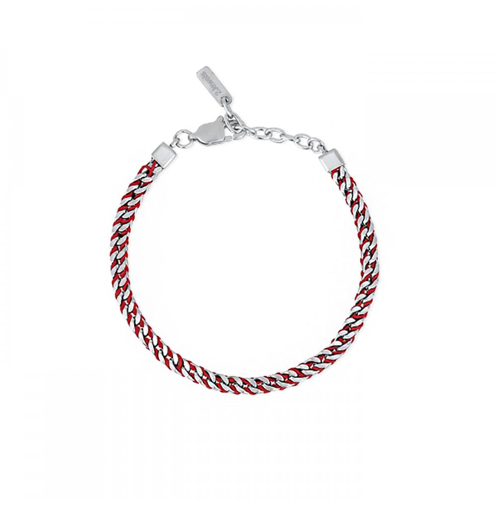 Red Nylon Bracelet - Wave...