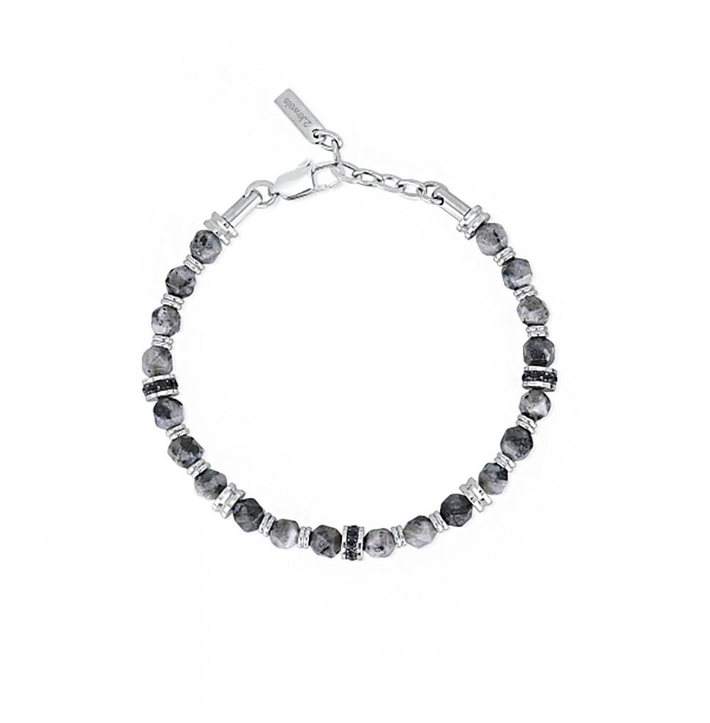 Grey Stones Bracelet -...