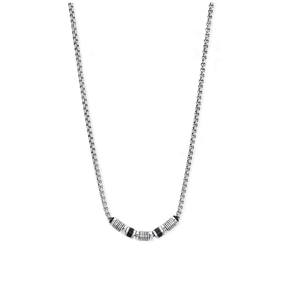 Silver Necklace -...